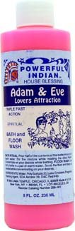 Powerful Indian Spiritual Bath and Floor Wash-ADAM AND EVE