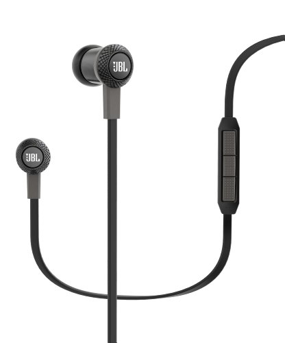Jbl Synchros S100 Advanced In-Ear Stereo Headphones With Apple 3-Button Remote, Black
