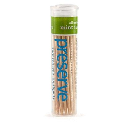 Mint Tea Tree Flavored Toothpicks 25 Pack (35 Toothpicks Ea)