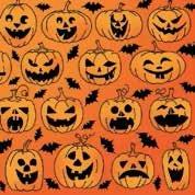 Daisy ポーランド製 ペーパーナプキン ハロウィン かぼちゃ