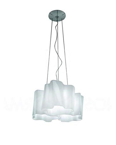 Artemide Lampada A Sospensione Logico Mini Sospensione 3X120° Seta Lucido/Grigio