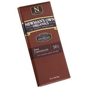 Newman'S Own Organics Organic Premium Chocolate Bar, Espresso Dark 54% Cocoa, 2.25-Ounce Bars (Pack Of 12)
