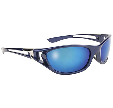 Men's Blue Ice Sunglasses with Blue Mirror Lens 400 UV Protection