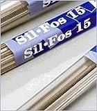 LUCAS MILHAUPT SIL-FOS 15 Part #95150 Silver Solder (1 LB) by Lucas Milhaupt