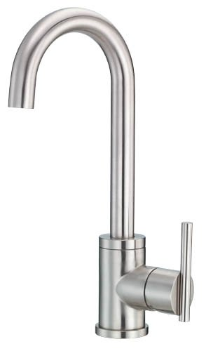 Buy Danze D151558SS Parma Single Handle Bar Faucet, Stainless Steel