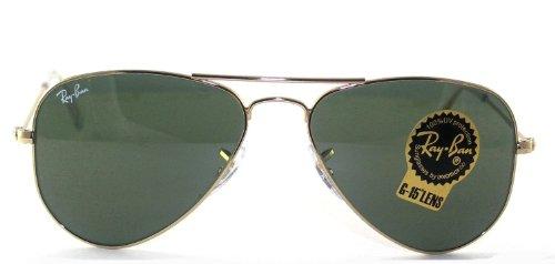 4a78372db9 Ray BAn RB3044 Gold G-15XLT L0207 52mm SunglassesB007FTMI4U