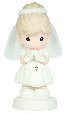 "Precious Moments ""May God's Blessings Be With You On Your First Holy Communion"" Figurine"