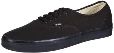 Van's Authentic Unisex Shoes - Black (8.0)