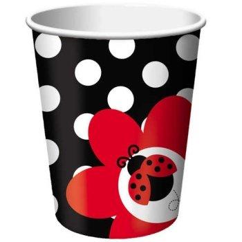 Ladybug Fancy 9oz Cups - 1