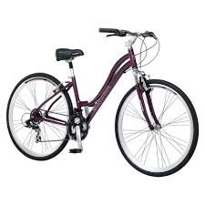 "New Schwinn Womens Trailway 28""/700c Hybrid Bike - Purple"