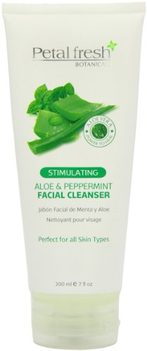 Petal Fresh Aloe And Peppermint Facial Cleanser, 8 Ounce