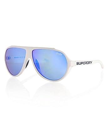 Amazon.com: Superdry White Motor-X Aviator Sunglasses Lens Category 3