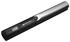 Wolverine PASS -100 Portable Battery Powered Hand Held Document Scanner