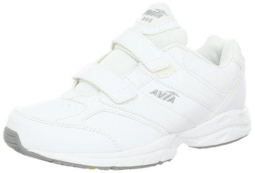 AVIA Women's Avi Walker Strap Walking Shoe,White/Grey/Yellow,9 M US (Avis Shoes compare prices)