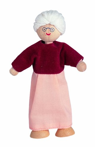 Plan Toys Dollhouse Series Grandmother