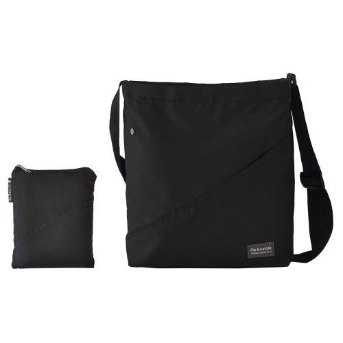 Flip & Tumble Lightweight Travel Bag, Black/Black, One Size