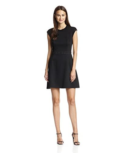 A.B.S. by Allen Schwartz Women's Cap Sleeve Open Back Dress