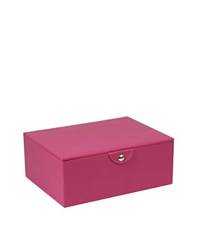 WOLF Stackables Series Large Jewelry Box, Fuchsia