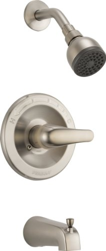 Peerless PTT188753-BN Classic Tub and Shower Trim, Brushed Nickel (Peerless Bath Faucet compare prices)