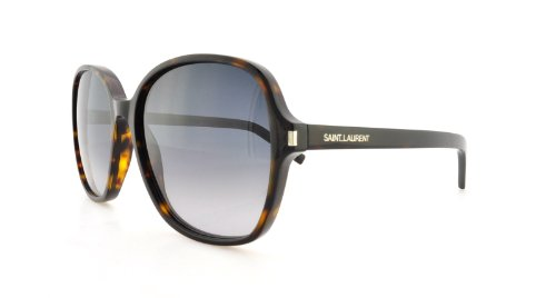 Yves Saint Laurent Yves Saint Laurent Classic 8/S Sunglasses-0086 Havana (HD Gray Grad Lens)-57mm