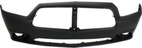 Crash Parts Plus Primed Front Bumper Cover Replacement for 2011-2014 Dodge Charger (2014 Dodge Charger Bumper compare prices)