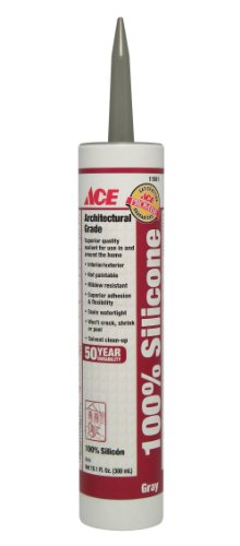 12 each: Ace 50 Year 100% Silicone Sealant (08175A)
