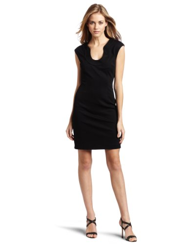 Trina Turk Women's Fong Dress, Black, 4