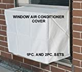 31fam22O2JL. SL160  WINDOW AIR CONDITIONER COVER   SMALL   19W,14H,14D The cover you cannot find locally that really works, Our most popular cover!  2pcs. sets are also available, for outside and inside.