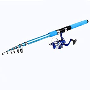Uxcell blue foam wrap handle 7 for Fishing rod handle wrap
