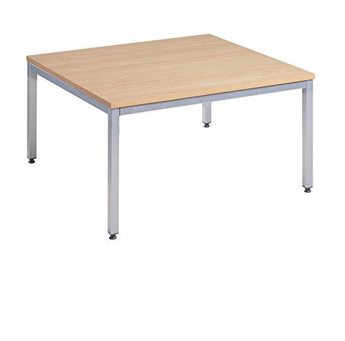 Tavolino rettangolare da salotto Dighe COFS12M 1200x 800400x 800x 1200–acero