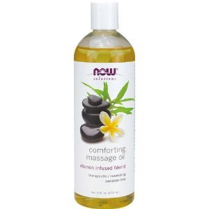NOW Foods - Comforting Massage Oil 16 oz