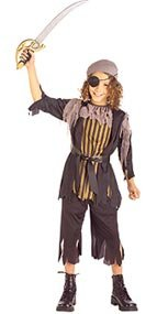 Pirate Captain Boy Child Halloween Costume