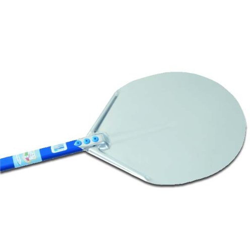 Professional 15-Inch Circular Pizza Peel With 47-Inch Handle front-227273