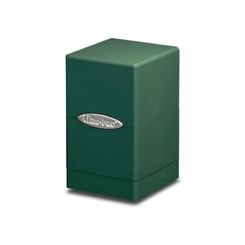 Green Satin Tower Deck Boxes