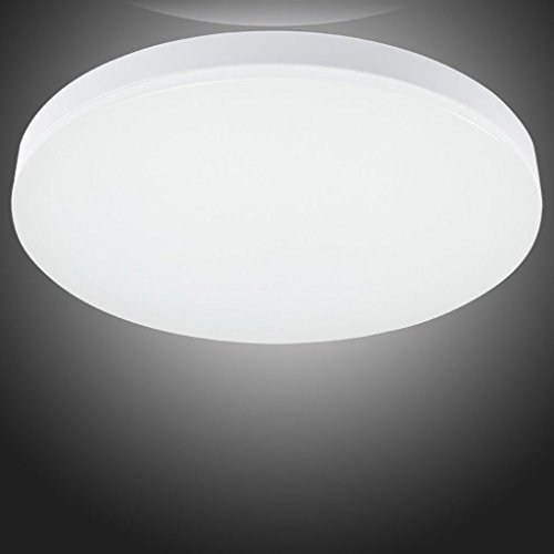 LED Ceiling Lights For Living Room Bathroom Bedroom With 4000k Color Temperature Natural White By SG