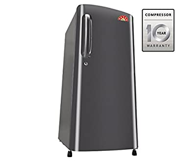 LG GL-B241ATNN.DTNZEBN Direct-cool Single-door Refrigerator (235 Ltrs, 5 Star Rating, Titanium)