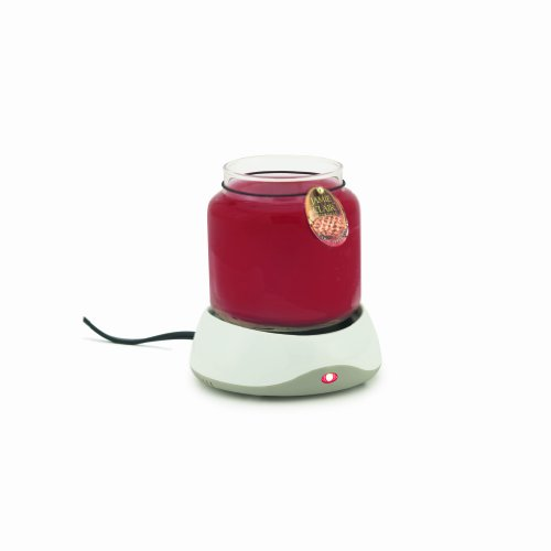 Candle Warmers Etc. Auto Shutoff Candle Warmer, White