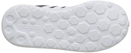 adidas NEO Lite Racer INF Runner Sneaker (InfantToddler), Lead GreyWhiteFlash Green, 6.5 M US Toddler   $72 Buy today!
