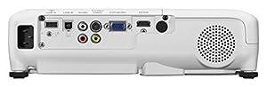 Epson EB-W04 WXGA 3LCD-Projektor (WXGA 1280x800 Pixel, 3.000 Lumen Weiß- & Farbhelligkeit, 15.000:1 Kontrast, 1x HDMI, Lampenlebensdauer bis zu 10.000 h im Sparmodus), weiß