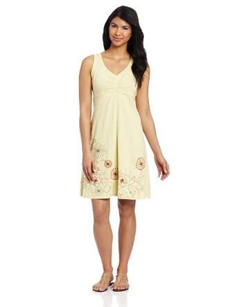 Aventura Women's Schaffer Dress, Dusty Yellow, X-Small