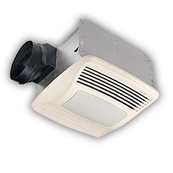 Broan-Nutone QTXEN110SFLT Ultra Silent Bathroom Fan / Light / Night-Light - ENERGY STAR