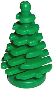 LEGO CITY - 10 kleine Tannenbäume- Bäume - Baum 2435 - Wald
