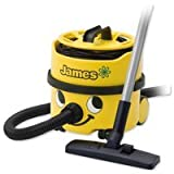 New Numatic James Vacuum Cleaner 1100W 8 Litre 5.2Kg W340xD340xH340mm Yellow Ref JVH180