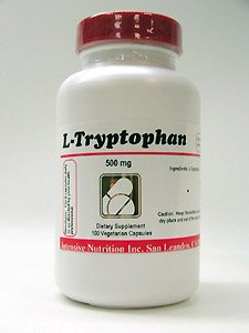 Nutrition Intensive - L-tryptophane 500 mg 100