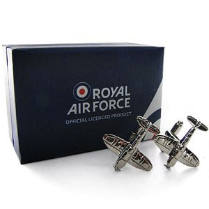 RAF Spitfire Cufflinks image