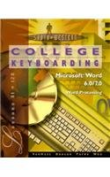 College Keyboarding Microsoft Word 6.0/7.0 Word Processing: Lessons 61-120