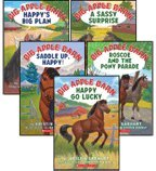 Big Apple Barn 5-Book Set: Happy Go Lucky, Happy's Big Plan, A Sassy Surprise, Saddle Up, Happy!, and Roscoe and the Pony Parade (Books 1, 2, 3, 4, and 6)