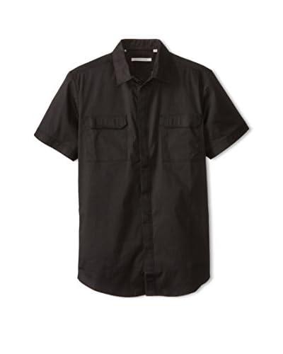 7 Diamonds Men's Invisible Sun Short Sleeve Shirt