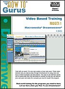 Dreamweaver Projects - Video Tutorial Training On Dvdrom. 6 Hours In 28 Video Lessons, New Computer Software Instruction