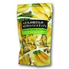 デルタ くだもの屋さんのバナナチップ 100g